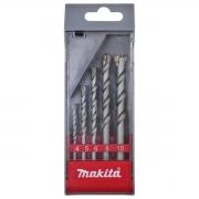 jogo de broca para concreto 5pcs Makita d-03894