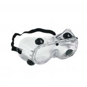 Óculos ampla visão perfurado com válvula carbografite