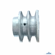 Polia motora alumínio 2 canais 20505462