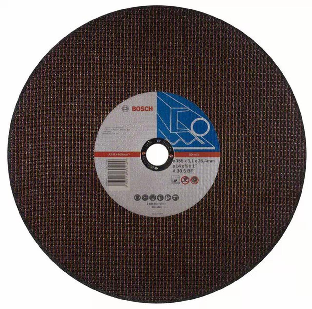 "Disco de corte metal 14"" 355 X 3,1 X 25,4mm Bosch 2608602759"