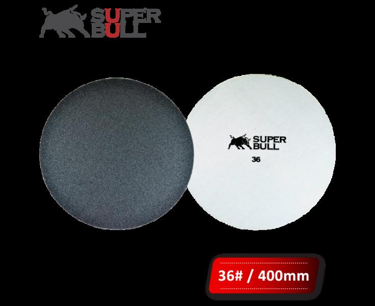 Disco de lixa 400mm grão 36 com velcro