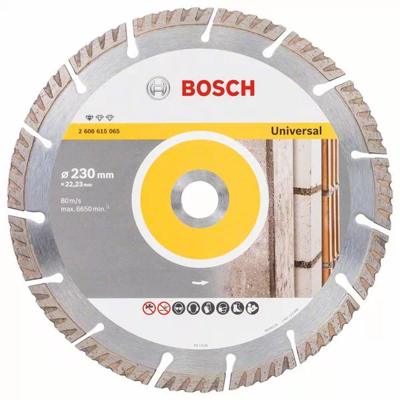 Disco diamantado segmentado 105mm X 20mm Bosch 2608603674