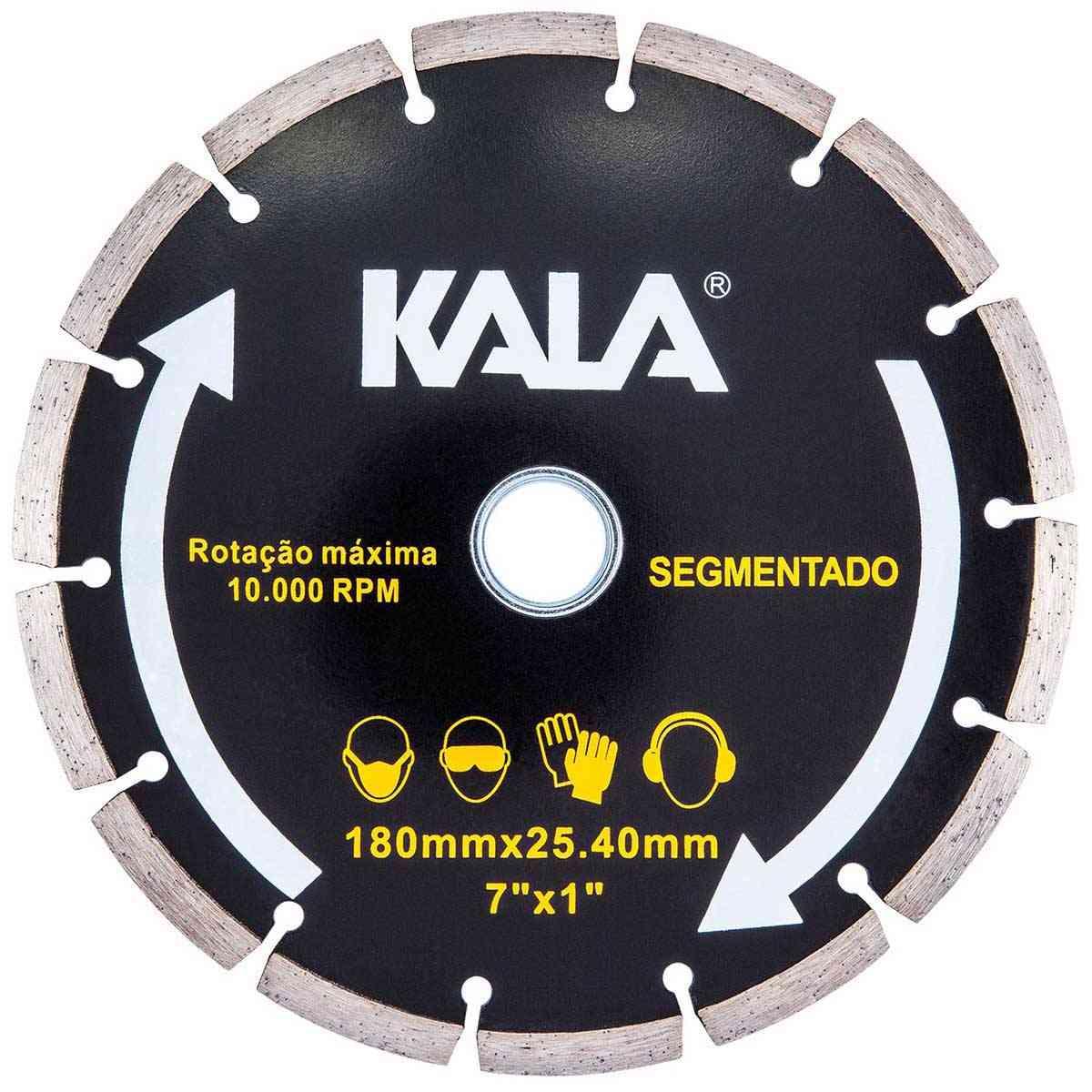 "Disco diamantado segmentado 180mm x 1""/20/22,2 kala 633917"