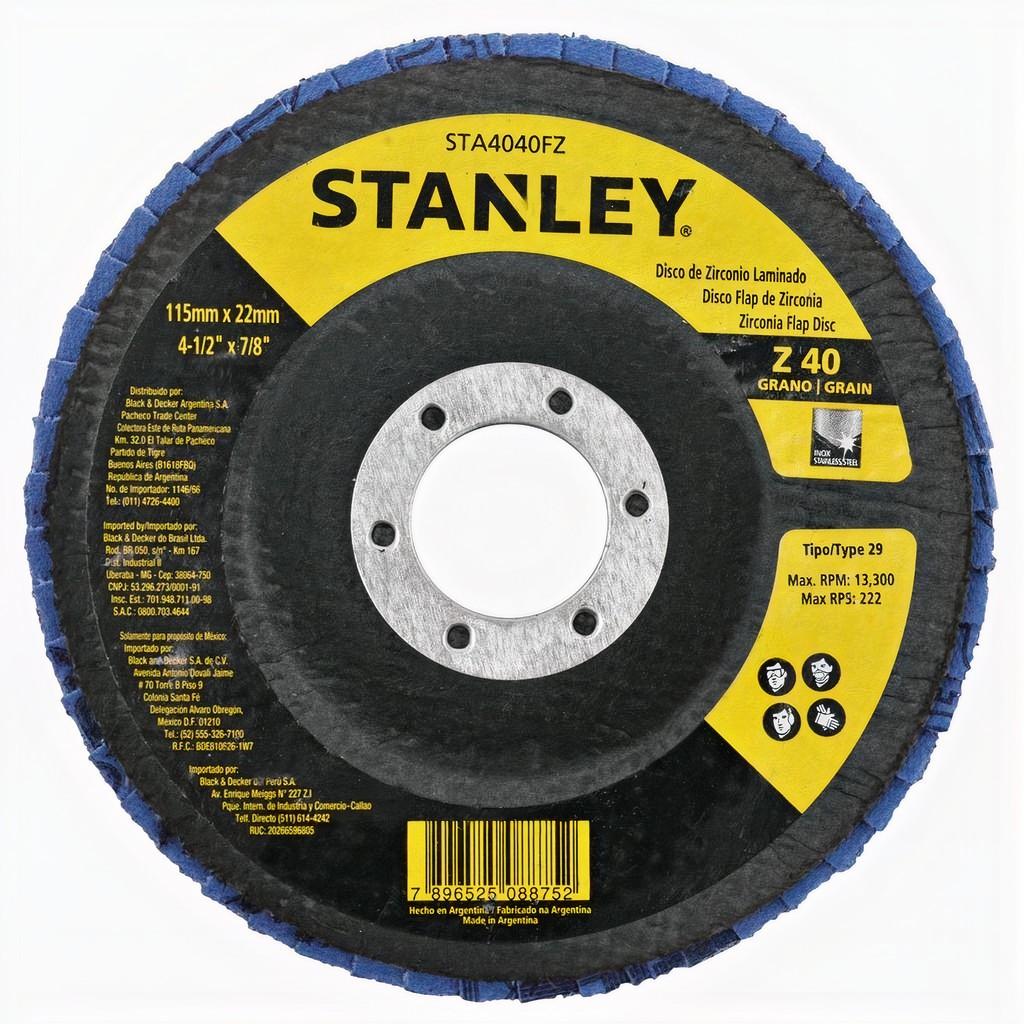 """Disco Flap 4.1/2"""" z40 Stanley Sta4040fz"""