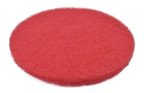 Disco limpeza vermelho 350mm para enceradeira