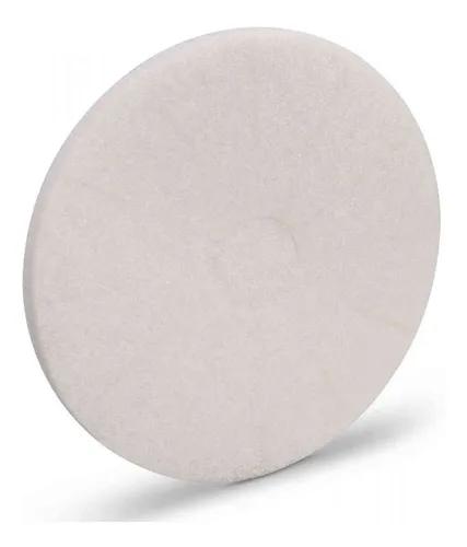 Disco lustrador branco 350mm para enceradeira