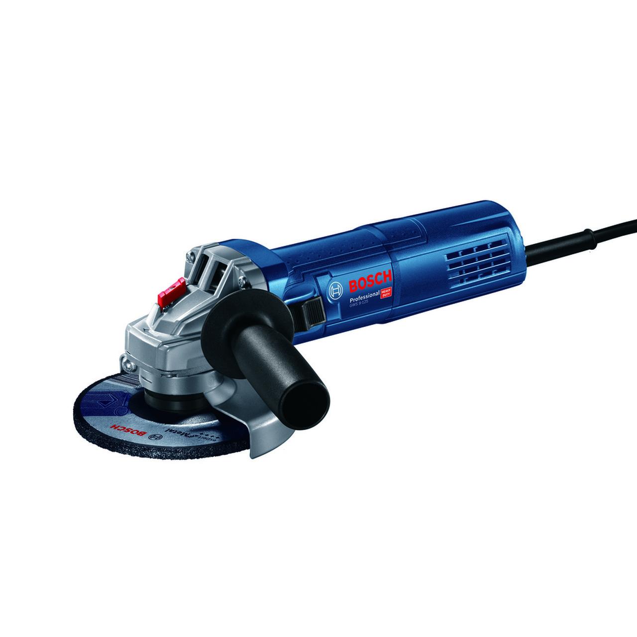 """Esmerilhadeira 4.1/2"""" 900w 220v GWS9-125 Bosch 06013960e1"""