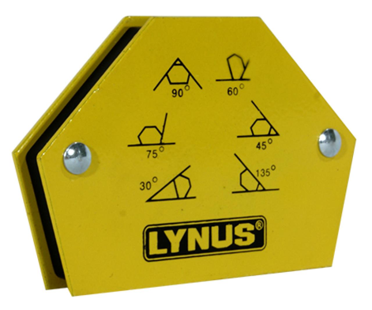 Esquadro magnético 12kg Lynus 10818.6 Eml-12a