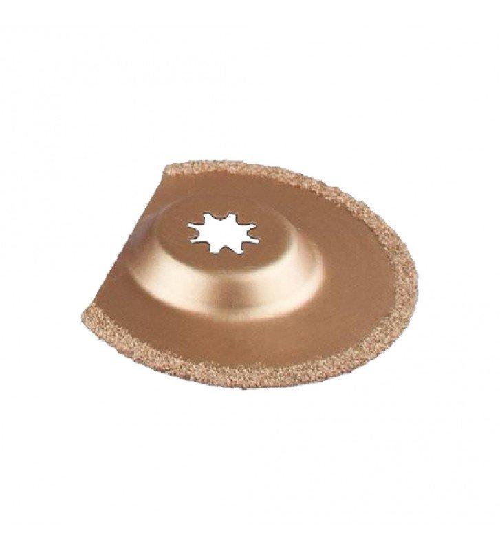 Lâmina semicírculo com Tungstenio Corteg