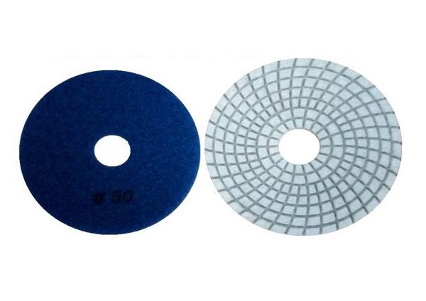 "Lixa diamantada 100mm 4"" gr50"