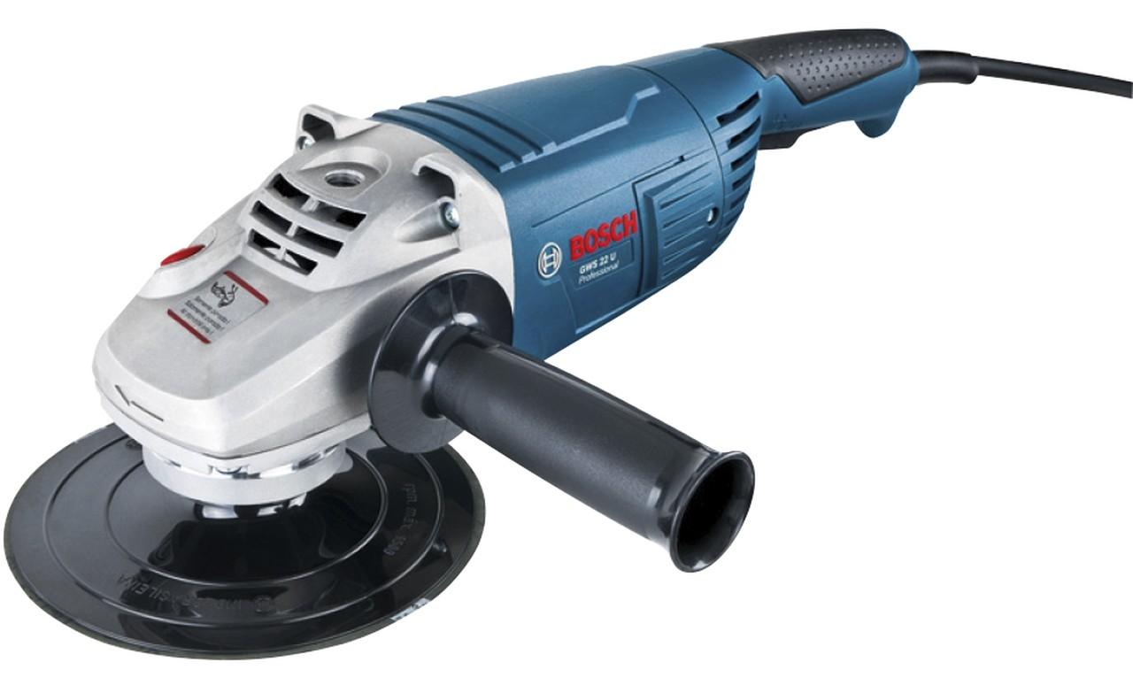 """Lixadeira angular 7"""" 220w 220v GWS22U Bosch 06018a70e0"""