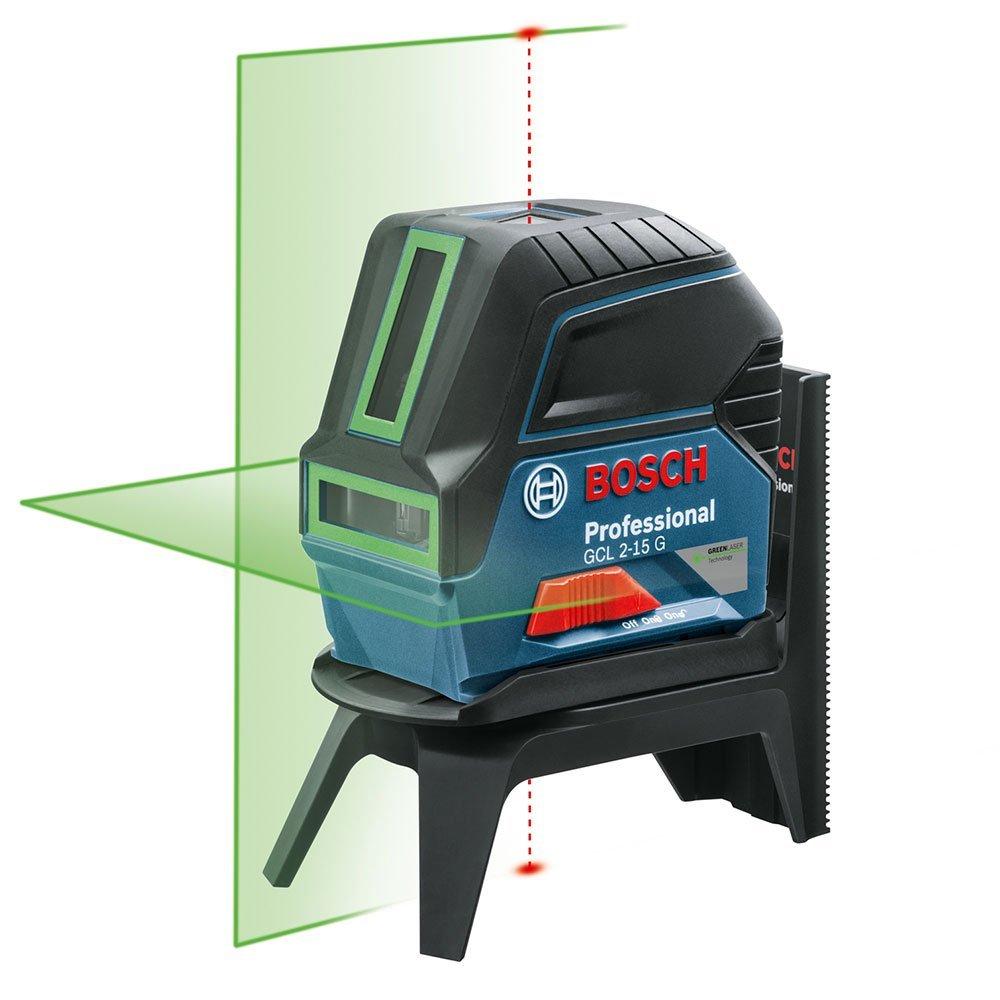 Nível a laser 2linhas verde GCL2-15G com maleta e suporte 0601066j00