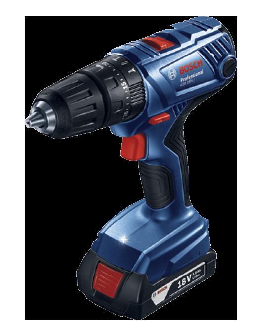 """Parafusadeira/furadeira de Impacto 1/2"""" a bateria 18v GSB180-li Bosch 06019f83e0"""