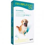 Antipulgas e Carrapatos Zoetis Revolution 12% para Cães de 20 a 40 kg - 240 mg