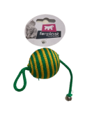 Bola com corda para gatos FerPlast