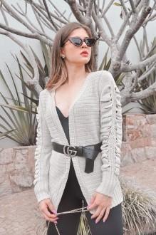 casaco detalhes