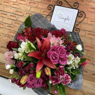 Buquê Mix Floral Athenas M