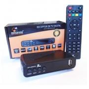 Conversor Digital Terrestre HD com saída AV e HDMI grava e reproduz