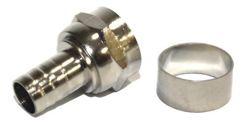 Conector Rg59 Anilha Ilhós Anel para Cabo Coaxial C/ 200 peças