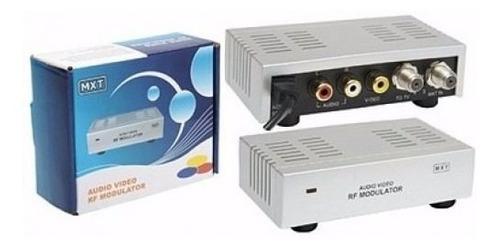 Modulador AV / RF Canal 3 ou 4 para Câmera, CFTV, Decoder