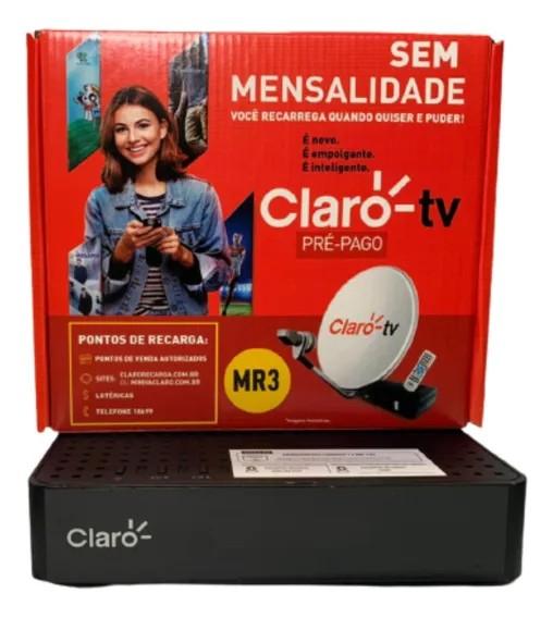 Receptor Claro Tv Pré Pago Recarga N5366S Visiontec