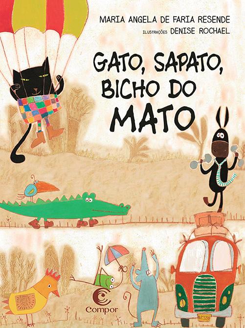 GATO, SAPATO, BICHO DO MATO