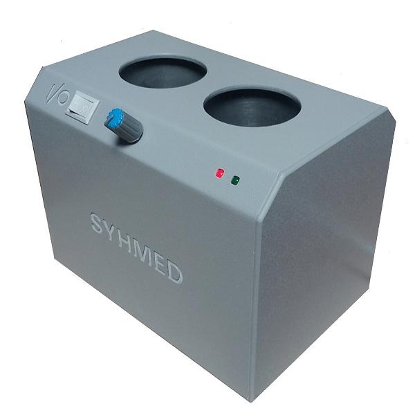 Aquecedor de Gel c/ 2 Cavidades p/ Frascos de 250g/300g e Temperatura Ajustável Bivolt
