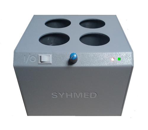 Aquecedor de Gel c 4 Cavidades p/ Frascos de 250g e Temperatura Ajustável Bivolt