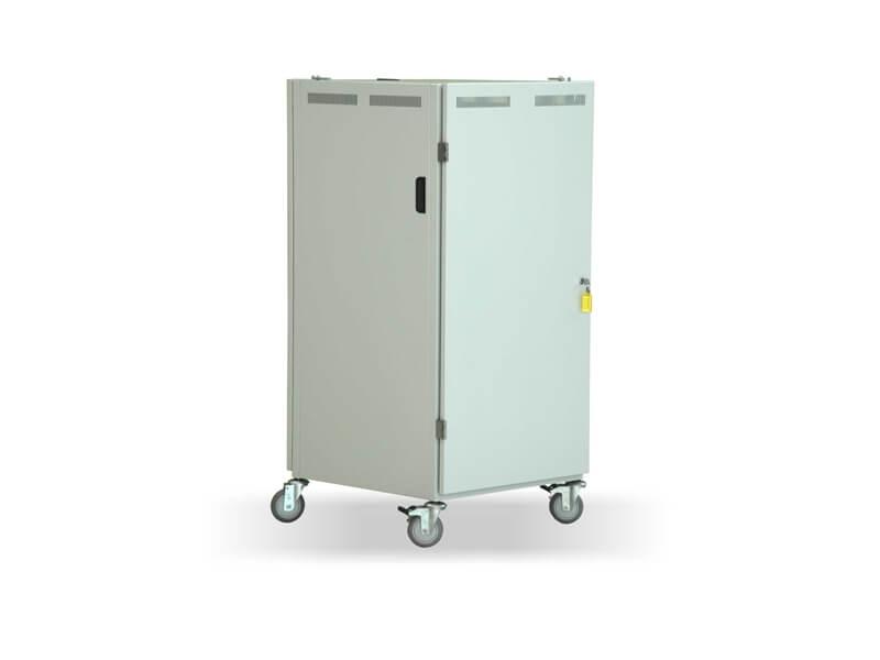 Armário p/ Equipamentos de Videocirurgia c/ Portas em Aço - VLFB-55