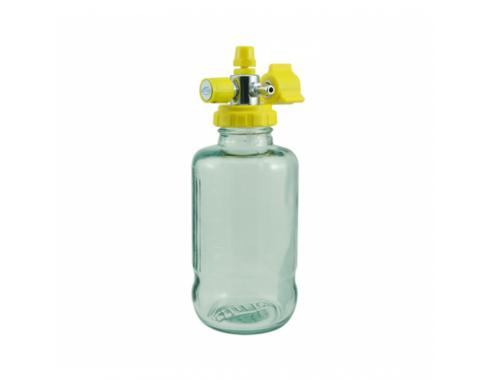 Aspirador Venturi p/ Rede Canalizada de Ar Comprimido c/ Frasco de Vidro 500 ml - AR120