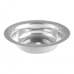 Bacia de Aço Inox c/ 35 cm de Diâmetro e Capacidade p/ 4700 ml