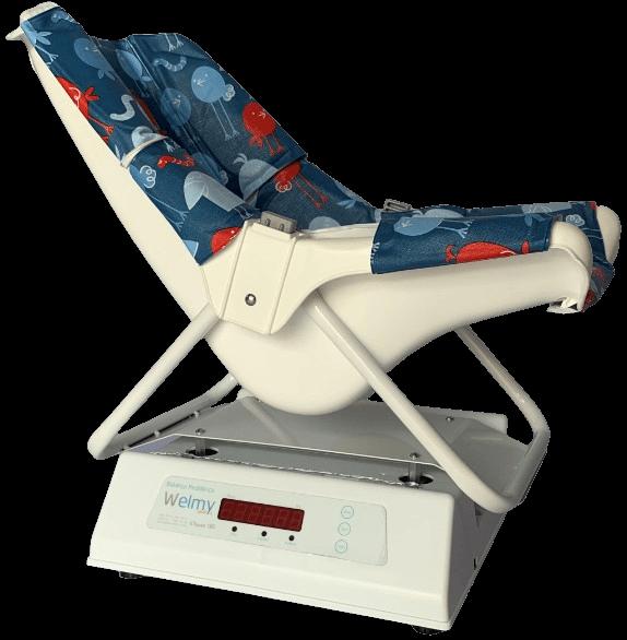 Balança Antropométrica Digital Infantil 15 e 30 Kg Confort com Cadeira Ergonômica