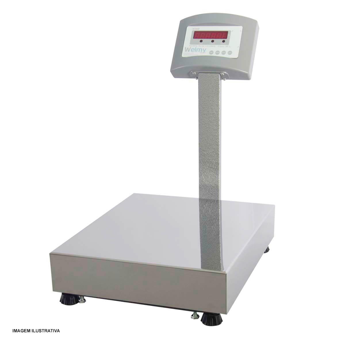 Balança de Precisão de Piso com Coluna com Capacidade para 100 Kg