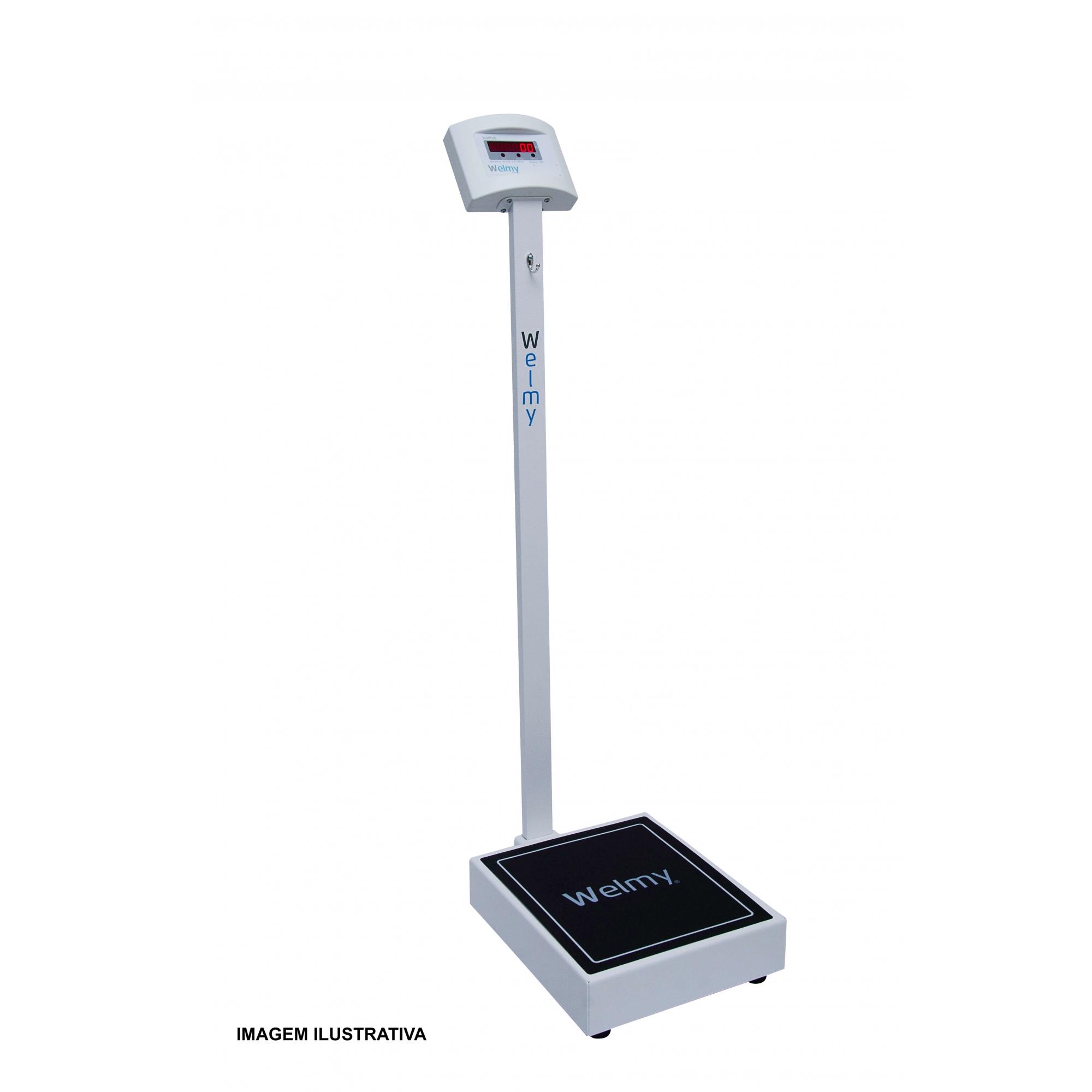 Balança Digital sem Régua Antropométrica para Farmácia com Divisão em 50 ou 100g