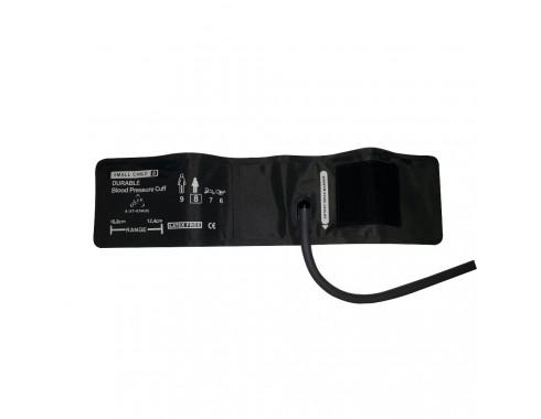 Braçadeira PNI 1 Via Infantil 10-19cm em Silicone c/ Manguito Acoplado p/ Monitor Multiparamétrico