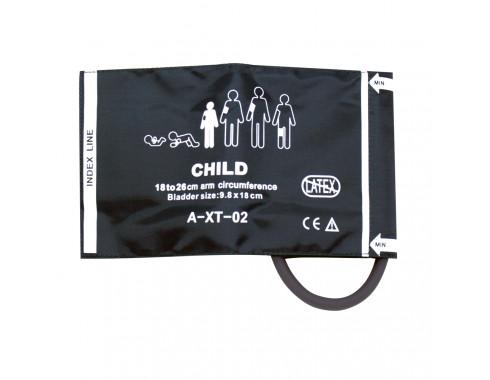 Braçadeira PNI 1 Via Infantil 10-19cm em Silicone c/ Manguito Removível p/ Monitor Multiparamétrico