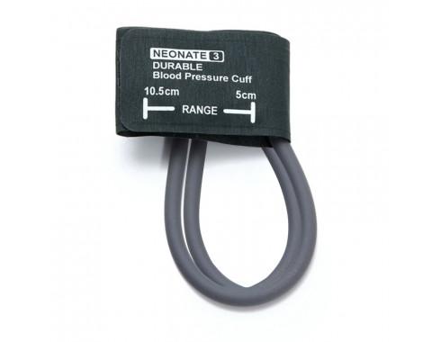 Braçadeira PNI 2 Vias Neonatal 06-11cm em Silicone c/ Manguito Removível p/ Esfigmomanômetro