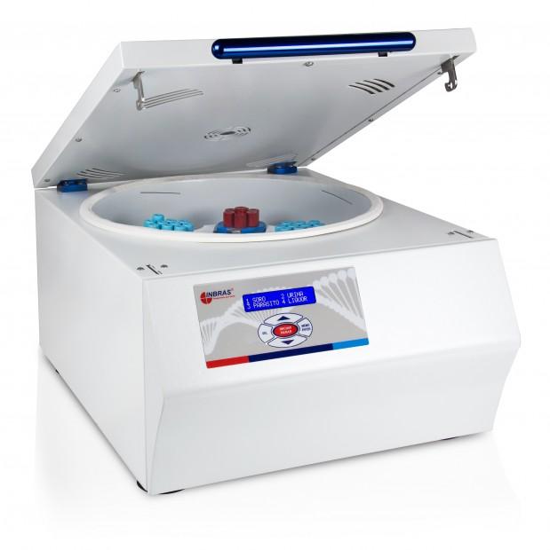Centrífuga Laboratorial de Análises Clínicas com Capacidade para 40 tubos de 10 ou15ml a 04 ou 08 de 50ml