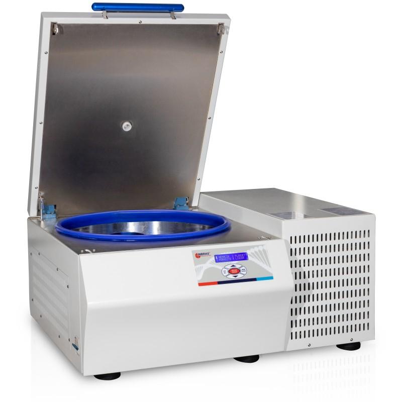 Centrífuga Refrigerada de Bancada p/ Processamento de Bolsas de Sangue - ALB 80 RE
