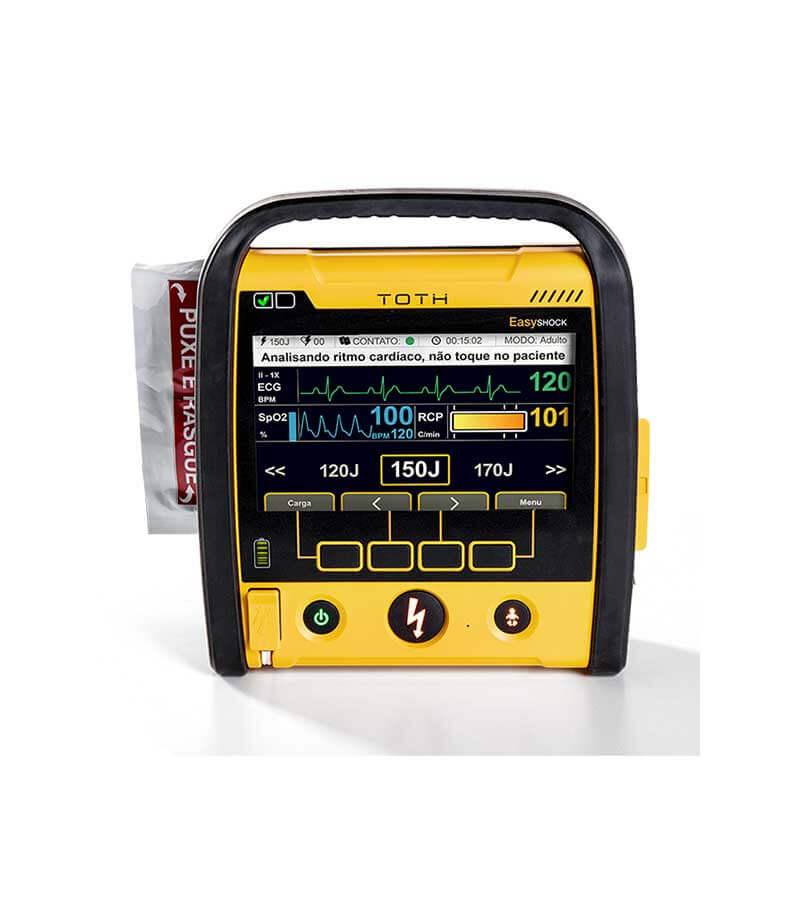 Desfibrilador Externo Automático – Cardioversor+ECG+SPO2 – Easyshock 5000