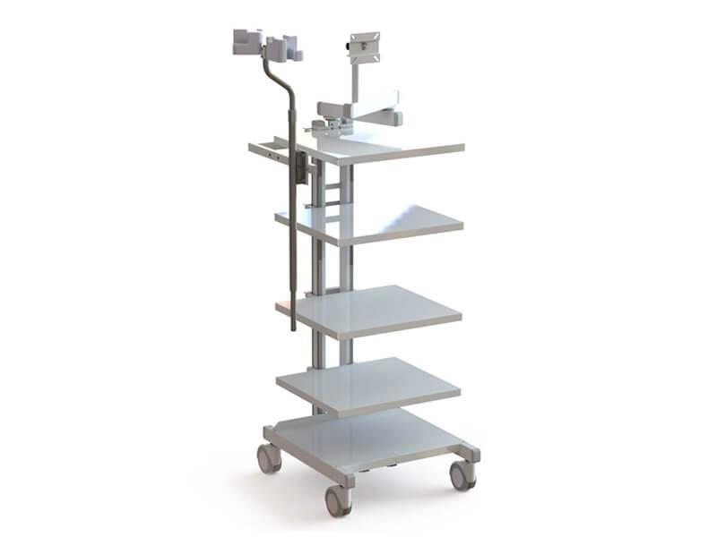 Estante para equipamento de Videoendoscopia / Cirurgia / Otorrino - C-50