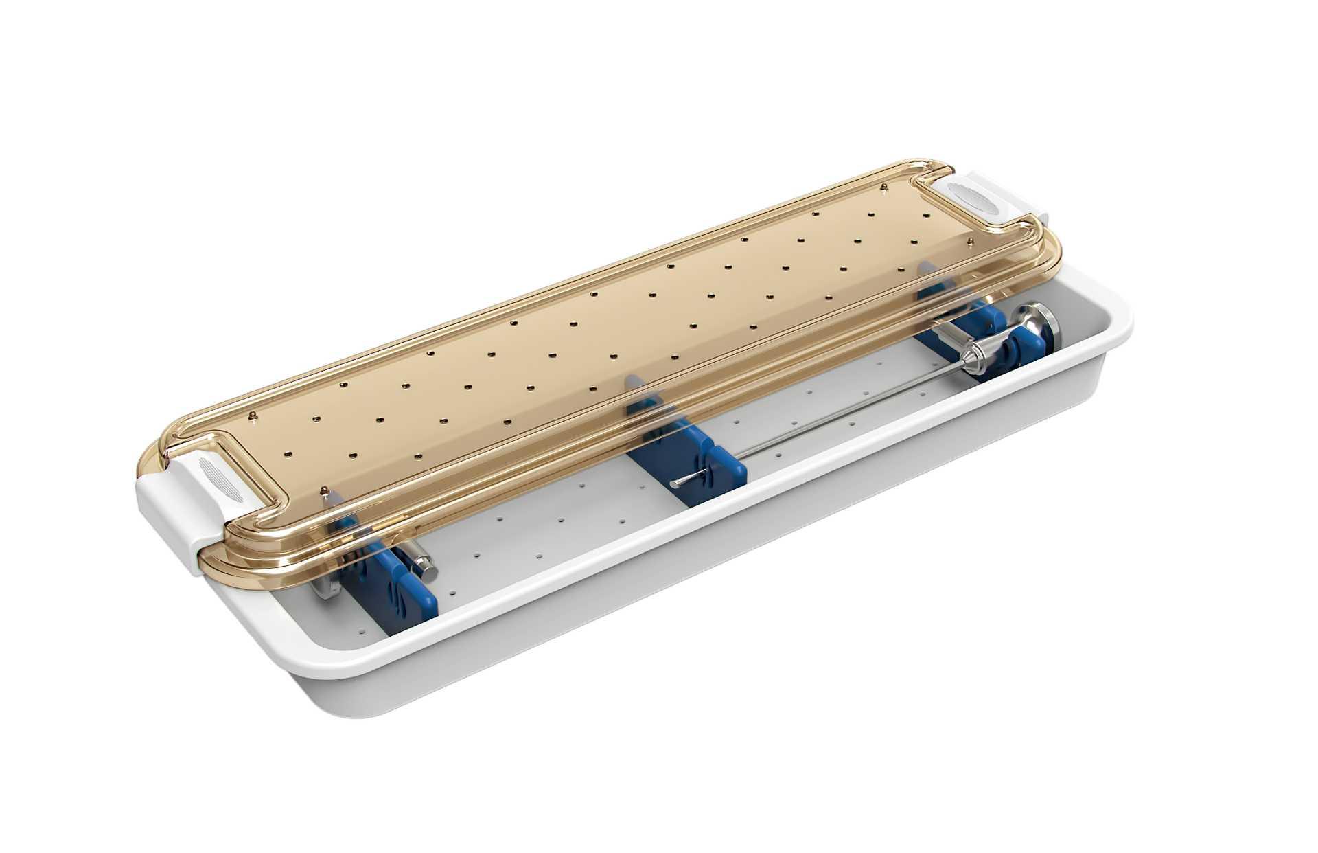 Estojo Para Instrumentais Óticos - H45 - Para 2 Óticas