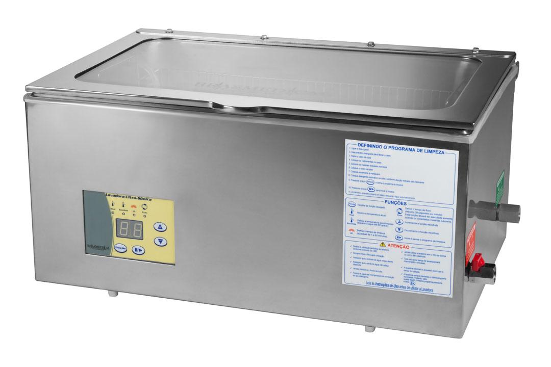 Lavadora Ultrassônica BR 25 LC com Capacidade para 30 Litros