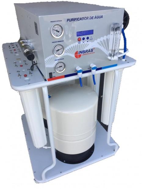 Osmose Reversa com Capacidade para 100 a 120 Litros por Hora