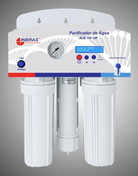 Osmose Reversa com Capacidade para 25 Litros por Hora