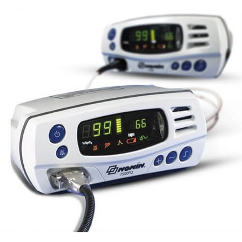 Oxímetro de Pulso p/ Sala de Ressonância Magnética - 7500FO - Nonin
