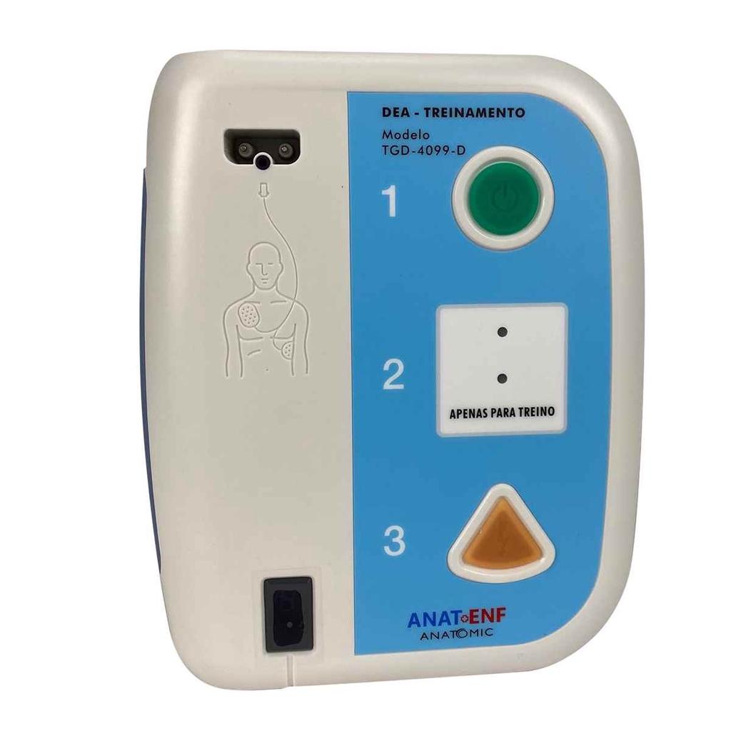 Simulador de DEA para Treinamento com Controle Remoto