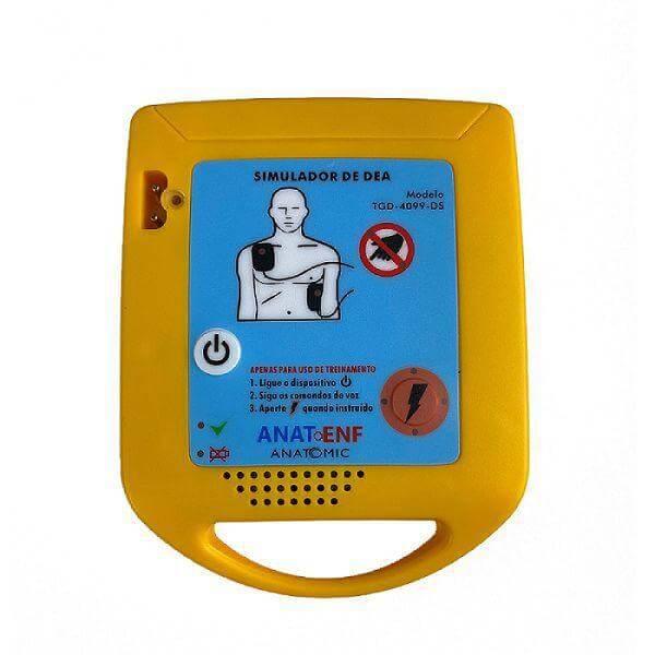 Simulador de DEA para Treinamento Portátil