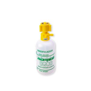 Umidificador 250ml para Ar Comprimido em PVC com Rosca de Metal