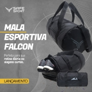 Mala Esportiva Falcon Preta